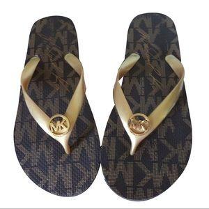 Michael Kors Flip Flop Bundle x3